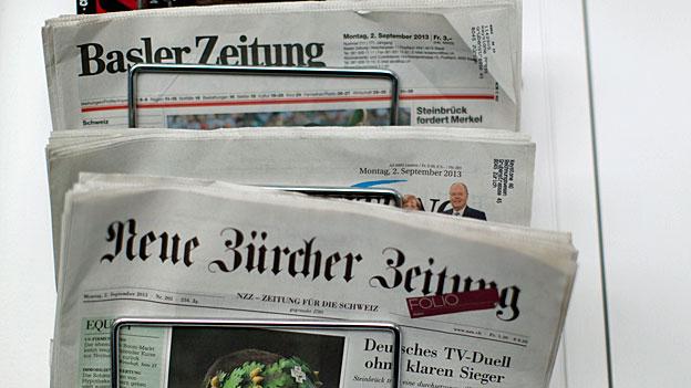 Zeitungen und Zeitschriften verlieren Leserschaft