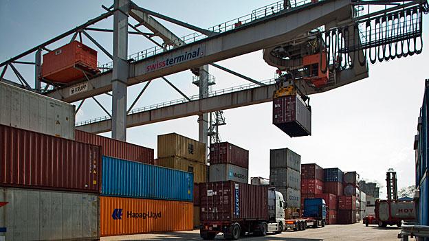 Stockender Handel mit Deutschland