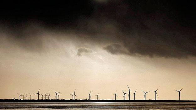 «Niklas» - zu viel Wind für Windkraftwerke