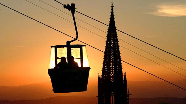 Eine Seilbahn statt neue Tram- und Buslinien?