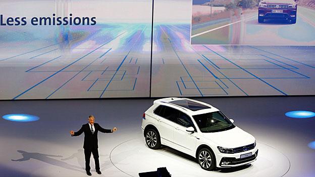 VW gesteht Manipulationen am Computerprogramm