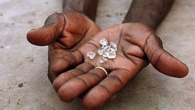 Die unbekannten Wege von Blutdiamanten