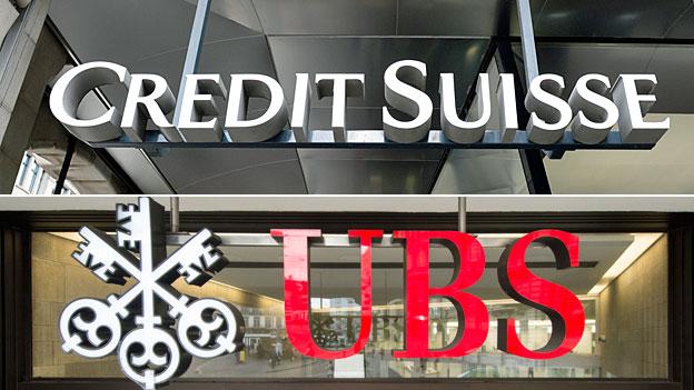 Ungnädige Börsenreaktionen gegen Schweizer Grossbanken