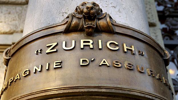 Effizienz - die Parole beim Zurich-Versicherungskonzern