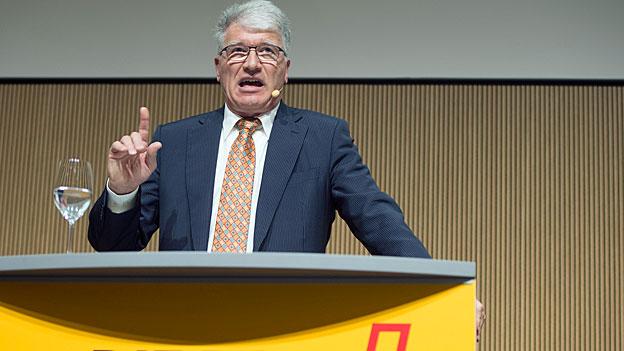 Peter Hasler – vom Post-Präsidium in den Ruhestand