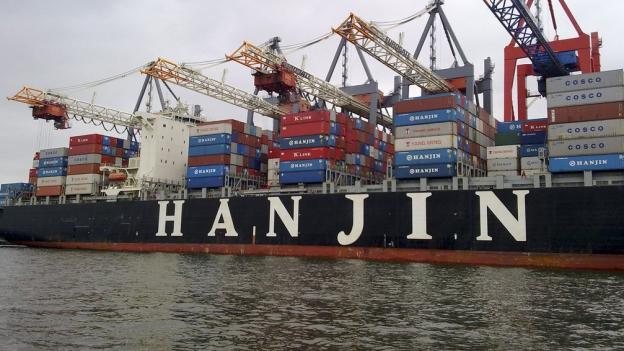 Container-Schifffahrt in der Krise