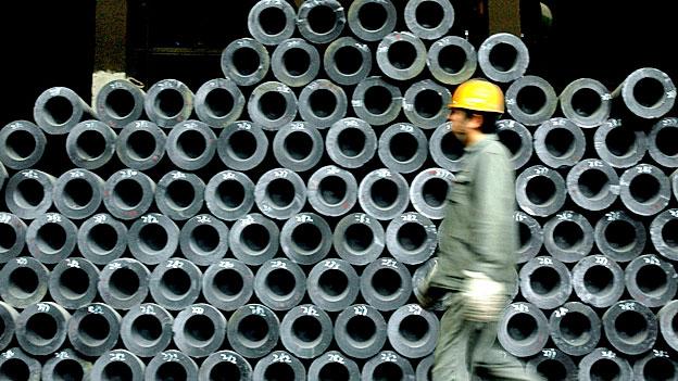 China setzt Europas Stahlindustrie unter Druck