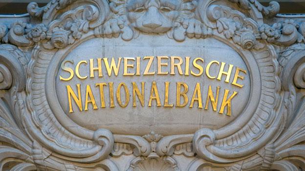 Die Schweizerische Nationalbank häuft Devisen an