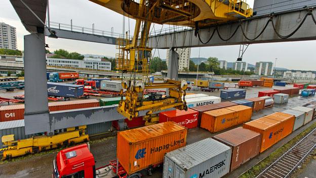 Grosse Herausforderung für Gütertransport
