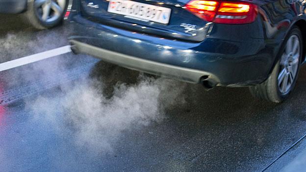 Auch Benzinmotoren schaden der Lunge