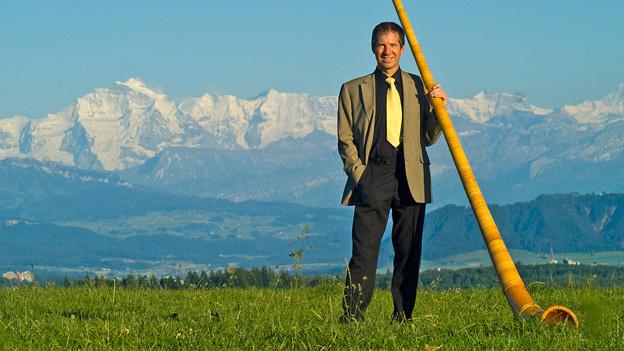 Alphornspieler aus Leidenschaft: Markus Linder