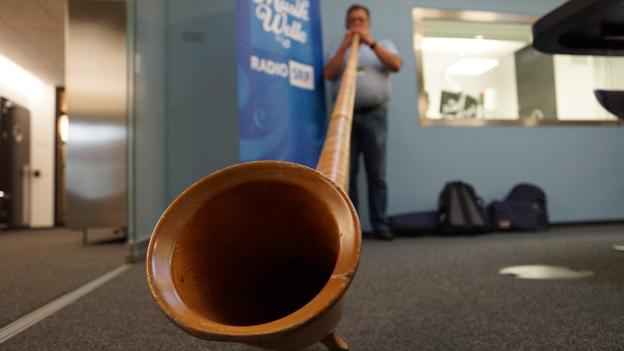 «Alphornpuma» Peter Baumann freut sich aufs Jodlerfest
