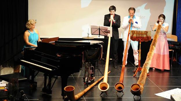 Audio ««Beflügeltes Alphorn»» abspielen.