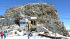 Baustelle am Klein Matterhorn