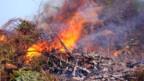 Ein Feuer im Freien - meistens nicht mehr erlaubt