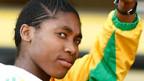 Mann oder Frau? Über das Geschlecht der südafrikanische 800-Meter-Weltmeisterin Caster Semenya wurden Zweifel laut.