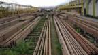 Kilometerlange Schienenlager