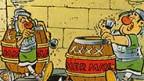 Aus dem Comic von Asterix und Obelix