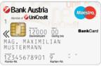 Bankkarte für Sehbehinderte: Schrift und Kontrast sind extragross.