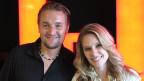 Nach dem Interview: Gitarrist Res und Sängerin Tanja Bachmann von TinkaBelle.
