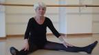 Elisabeth Oberer-Gmür in der Tanzschule Kreuztberg, in die sie einmal pro Woche trainiert.