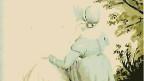 Aquarell von Jane Austen gemalt von ihrer Schwester Cassandra um 1804.