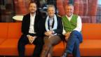 Die Jury-Mitglieder v.l.n.r.: Peter Röthlisberger, Theres Arnet-Vanoni und Röbi Koller.