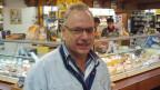 Fredy Wicki in seinem Geschäft.