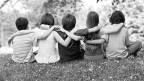 Echte Freunde findet man schon oft im Kindesalter.