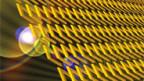 Schematische Darstellung eines 3D-Metamaterials