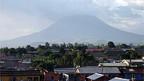 Der Vuklan «Nyiragongo» bei Goma in der Republik Kongo
