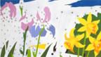 Ausschnitt aus «Do It Yourself (Flowers)» von Andy Warhol, 1962.