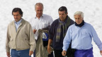 Rugby-Spieler, die nach einem Flugzeugabsturz 72 Tage in den Anden überlebt haben.