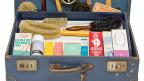 Bürsten und Cremes für die Hausfrau: Typischer «Just»-Koffer für Handelsvertreter, vermutlich aus den 1950er Jahren.