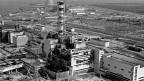Der Reaktor 4 in Tschernobyl wenige Wochen nach dem Unglück.