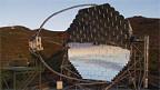 Das «MAGIC»-Teleskop auf La Palma.