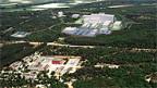 Blick auf den zukünftigen ITER-Standort in Cadarache (F).