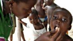 Schluckimpfung gegen Kinderlähmung.