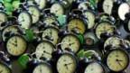 Die Uhren laufen: «tck tck tck»-Kampagne in Barcelona.
