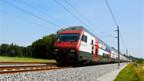 Ein Intercity-Doppelstockzug der SBB.