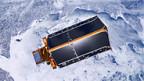 CryoSat mit Solarpanel-Dach.
