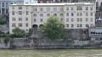 Das alte Universitätsgebäude am Rheinsprung in Basel.