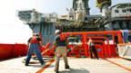 Rettungsversuche im Golf von Mexiko.
