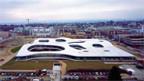 Das «Rolex Learning Center» der EPFL Lausanne.
