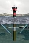 Eine Art: Unterwasser-Windturbine: «Seagen» in Nordirland.