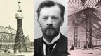 Weltweit erste hyperboloide Struktur (1896); Wladimir Schuchow; Seilnetz-Struktur von 1896.