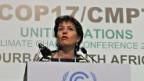 Eine von vielen: Auch Bundesrätin Doris Leuthard war in Durban dabei.