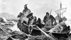 Ausgeklügelte Navigation: Wikinger auf hoher See.