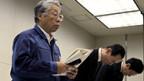 Kein Vorbilder in Sachen Katastrophenmanagement: Tepco-Vizepräsident Takashi Fujimoto.