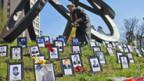 Gedenkstätte für die Opfer: die genaue Anzahl ist jedoch umstritten.
